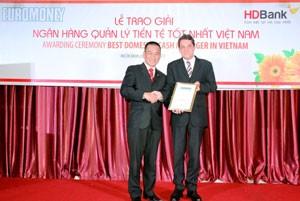 HDBank nhận giải thưởng của Euromoney ảnh 1