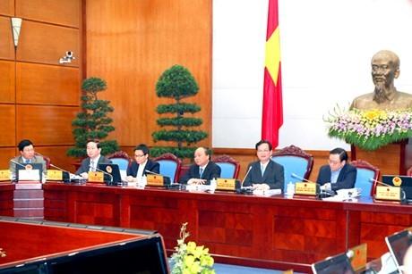 Chính phủ họp phiên thường kỳ tháng 11-2013 ảnh 1