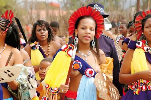 Lễ hội ở lục địa đen ảnh 1