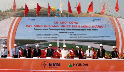Khởi công nhà máy nhiệt điện Mông Dương 1 ảnh 1