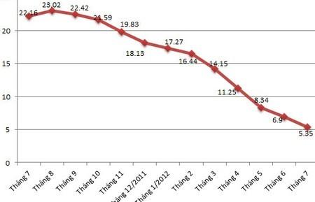 CPI tháng 7 giảm 0,29%, mạnh nhất kể từ 2009 ảnh 1