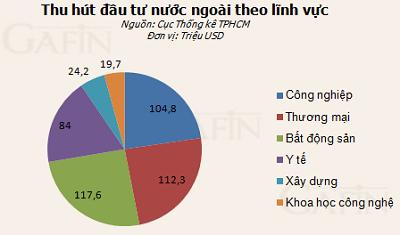 10 tháng: TPHCM thu hút FDI đạt 1,18 tỷ USD ảnh 1
