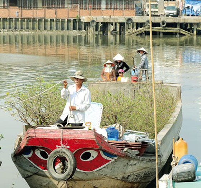 TPHCM trên bến dưới thuyền ảnh 4