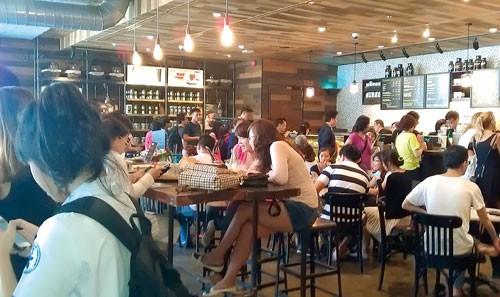 Phong cách Starbucks ảnh 1