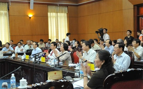 Ngày 21-8, chất vấn tại Ủy ban Thường vụ Quốc hội ảnh 1