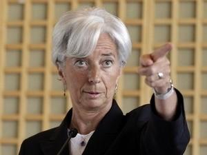 Bà Christine Lagarde tân Tổng giám đốc IMF ảnh 1