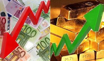 """Eurozone tan vỡ, giá vàng sẽ """"thăng thiên""""? ảnh 1"""