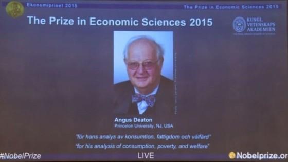 Nobel Kinh tế 2015 ảnh 1