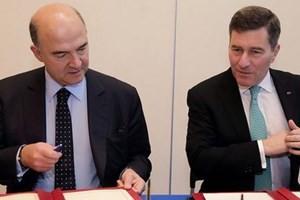 Hoa Kỳ-Pháp ký hợp tác chống trốn thuế ảnh 1