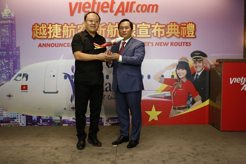 Vietjet mở đường bay Hà Nội - Đài Bắc, TPHCM - Cao Hùng ảnh 2