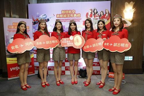Vietjet mở đường bay Hà Nội - Đài Bắc, TPHCM - Cao Hùng ảnh 5