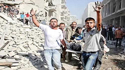 Cơn ác mộng Syria ảnh 1