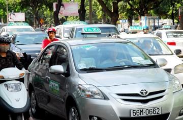 Thanh tra hoạt động taxi tại TPHCM ảnh 1