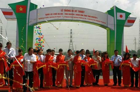 Thông xe kỹ thuật cao tốc Hà Nội-Thái Nguyên ảnh 1