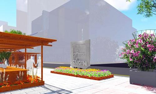 5 tác phẩm điêu khắc ở đường hoa Nguyễn Huệ ảnh 5