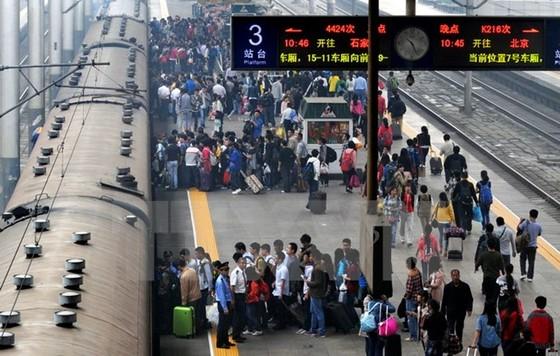 Trung Quốc: 40 tỷ USD xây 6 hệ thống đường sắt ảnh 1