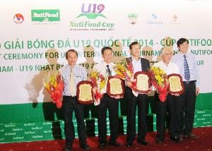 Tổ chức giải bóng đá U19 Quốc tế 2014 Cúp Nutifood ảnh 1