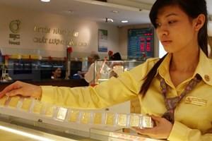 Đầu tuần, vàng đi xuống dưới 35 triệu đồng ảnh 1