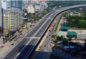 Thông xe cao tốc trên cao hiện đại nhất VN ảnh 1