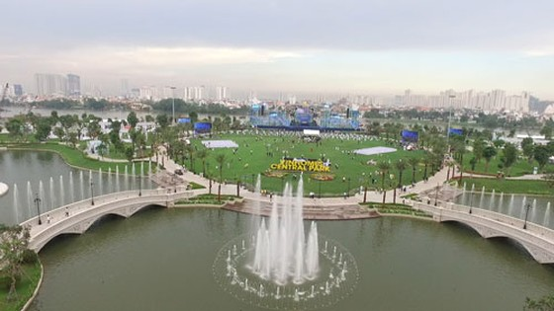 TPHCM: Khai trương công viên ven sông lớn nhất ảnh 1