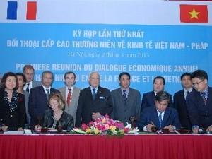 Đối thoại cấp cao kinh tế Việt Nam-Pháp ảnh 1