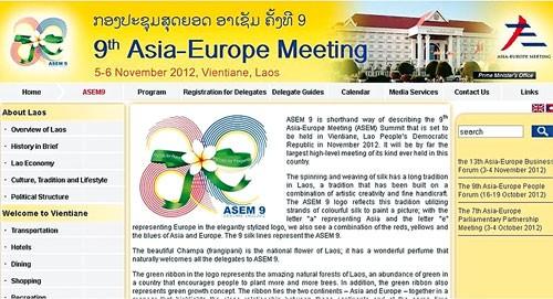 ASEM 9: Vì hòa bình, thịnh vượng chung ảnh 1