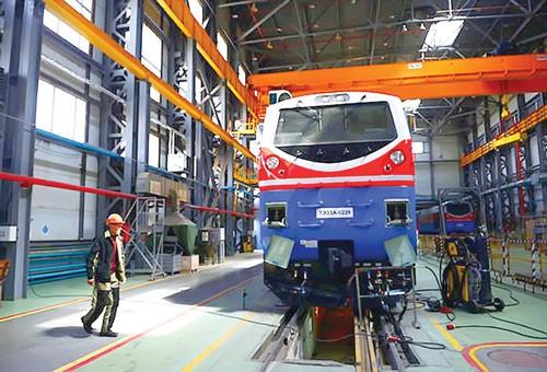 Kazakhstan đặt cược vào đường sắt ảnh 1