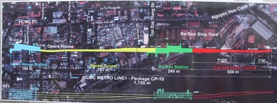 Tuyến metro số 1: Robot TBM bắt đầu khoan xuyên lòng đất ảnh 2