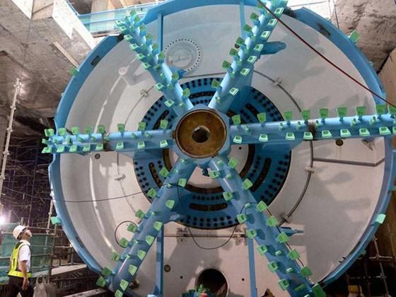 Tuyến metro số 1: Robot TBM bắt đầu khoan xuyên lòng đất ảnh 3