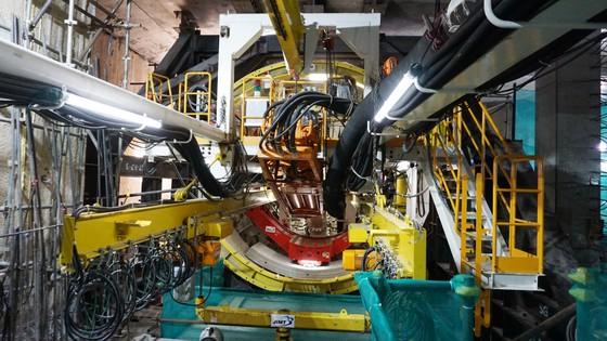 Tuyến metro số 1: Robot TBM bắt đầu khoan xuyên lòng đất ảnh 4