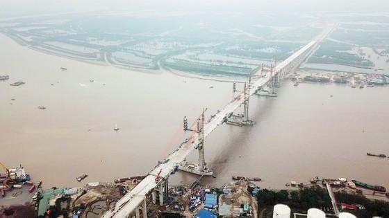 Hợp long cầu Bạch Bằng nối tỉnh Quảng Ninh và TP Hải Phòng ảnh 4