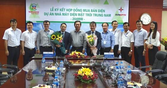 Trung Nam Group đầu tư gần 5.000 tỷ đồng xây dựng nhà máy điện mặt trời ảnh 1