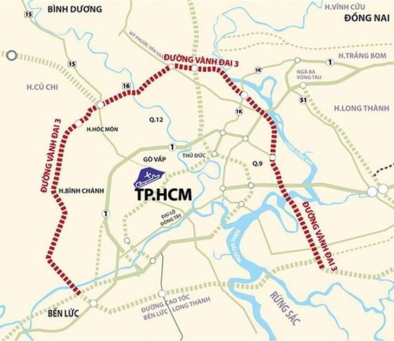 TPHCM kiến nghị Chính phủ triển khai dự án đường Vành đai 3 ảnh 1