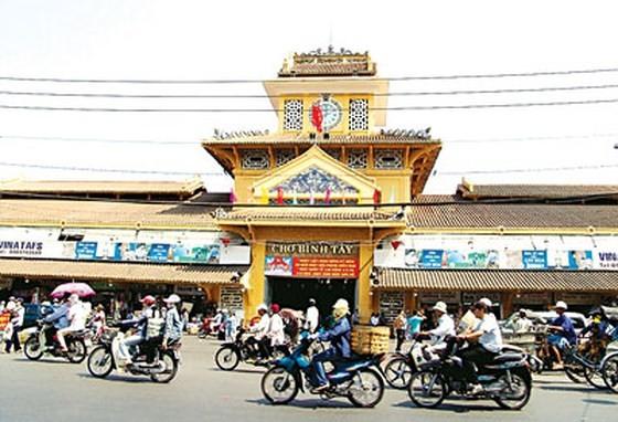 Ngày 15-11, chợ Bình Tây chính thức đi vào hoạt động  ảnh 1