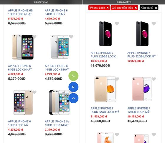 iPhone khóa mạng giảm giá sâu  ảnh 1