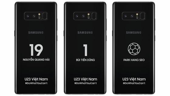 Samsung Vina tặng sản phẩm công nghệ trị giá 1,2 tỷ đồng cho U.23 Việt Nam ảnh 1