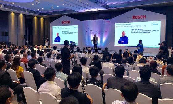Bosch trình diễn giải pháp thông minh ảnh 1
