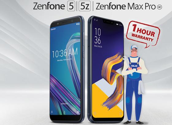 ASUS bảo hành siêu tốc trong 1 giờ với ZenFone  ảnh 1