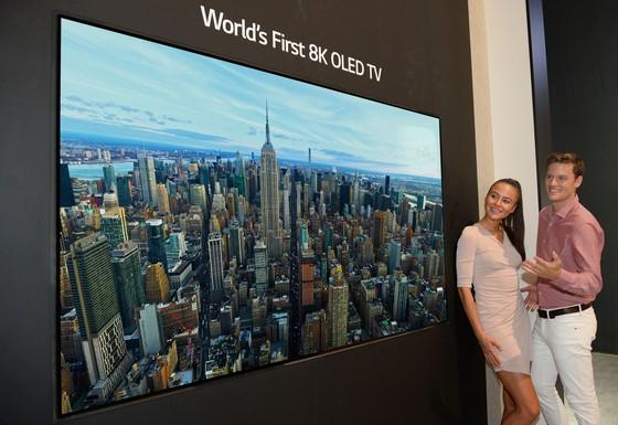 LG mắt TV OLED 8K ảnh 1
