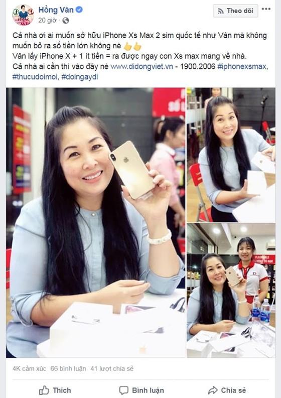 Sức mua lớn, iPhone Xs Max 2 sim quốc tế khan hang ảnh 1