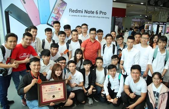 Xiaomi lập kỷ lục mới về selfie với Redmi Note 6 Pro ảnh 1