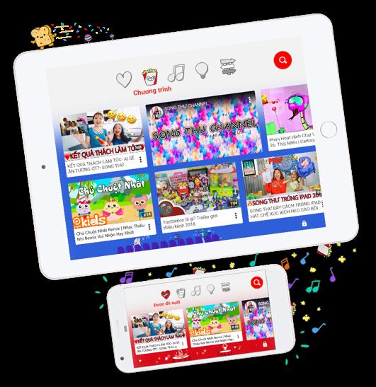 Đã có YouTube Kids  chính thức cho Việt Nam ảnh 1