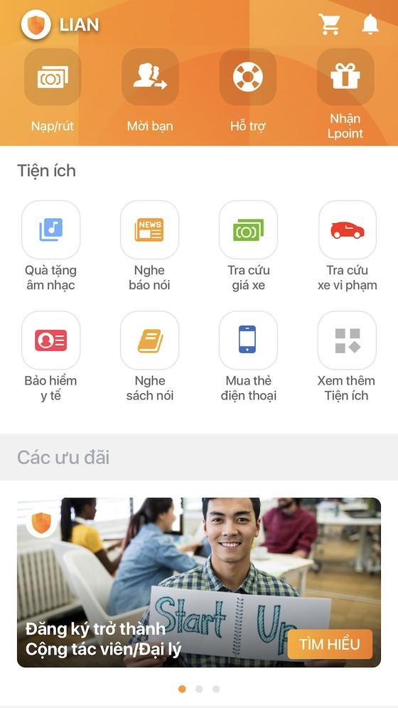 LIAN, ứng dụng  bảo hiểm tự động đầu tiên trên di động ảnh 1