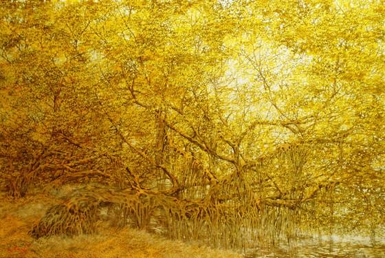 Ngỡ ngàng với miền cổ tích của họa sĩ Nguyễn Quốc Huy ảnh 3