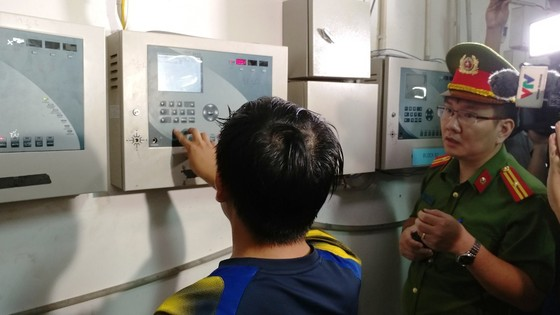 Khu căn hộ cao cấp Giai Việt (quận 8) vi phạm hàng loạt quy định về PCCC ảnh 4