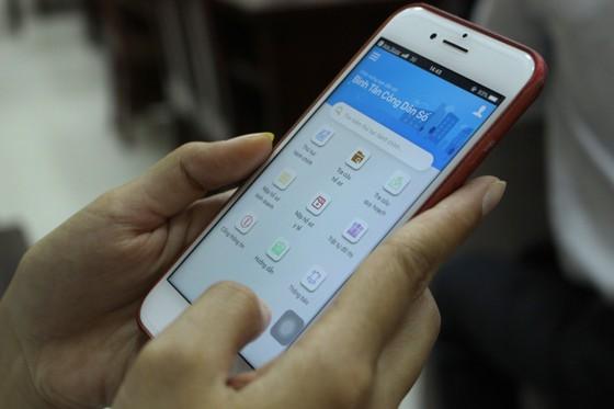"""Tra cứu thông tin quy hoạch trên ứng dụng """"Bình Tân công dân số"""" ảnh 1"""