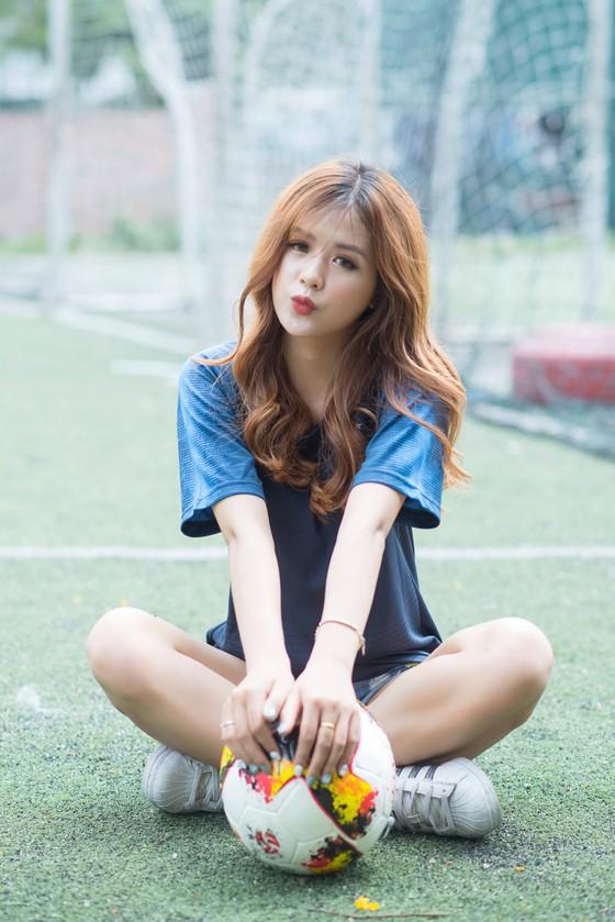 Hot girl Dương Kẹo tin đội tuyển Pháp sẽ vào tứ kết.