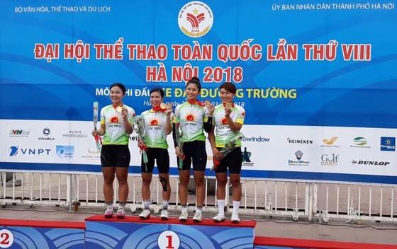 Nguyễn Thị Thật mang thêm cú đúp vàng cho xe đạp nữ An Giang ảnh 1