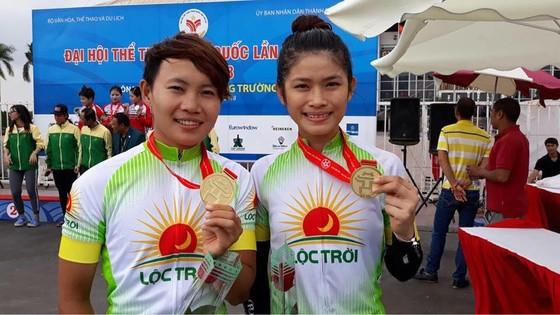 Nguyễn Thị Thật, Kim Ngân là 2 tay đua mang HCV nhiều nhất cho xe đap An Giang.