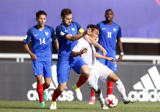 VCK FIFA U20 World Cup 2017: Việt Nam thua đậm Pháp 0-4 ảnh 1